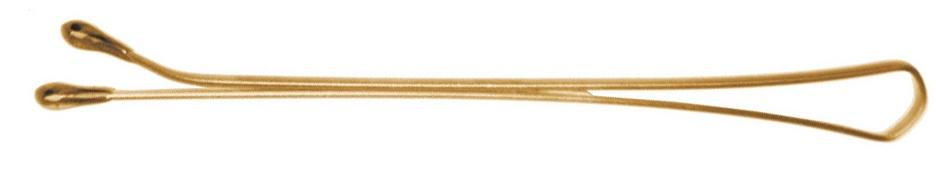 Невидимка Dewal невидимки dewal professional 4 см 200 гр коричневый волна