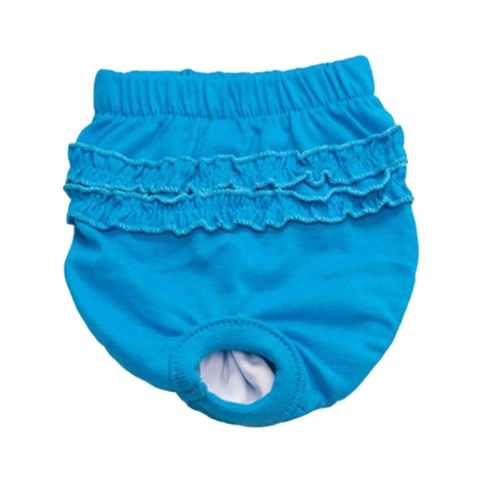 Одежда для собак Arnydog Трусики защитные синие, синий