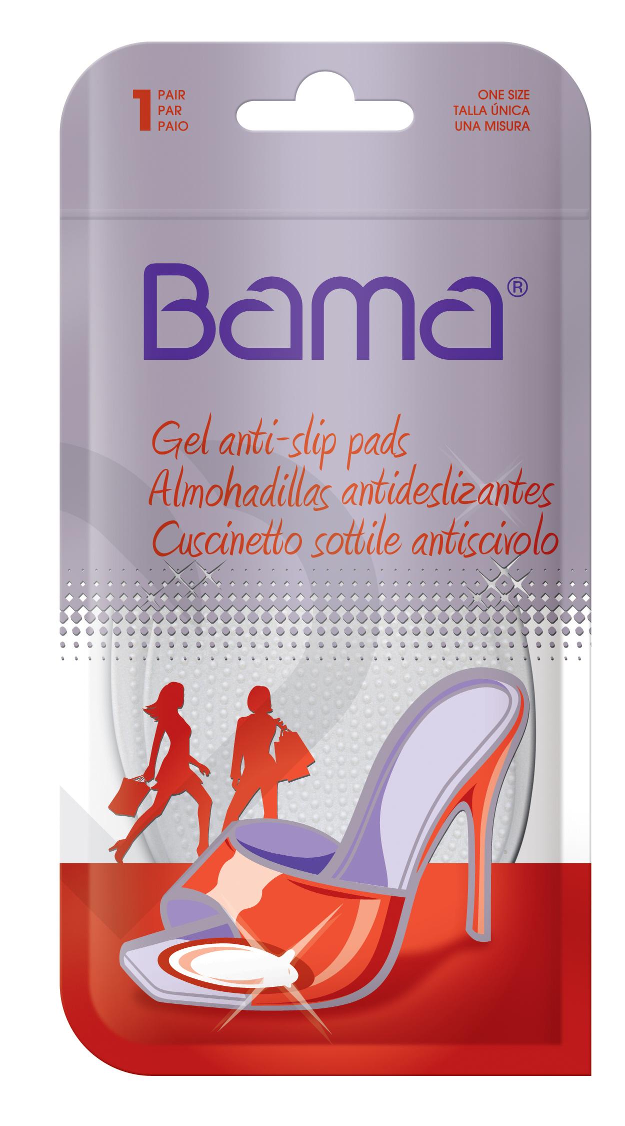 Гелевые подушечки Bama против скольжения стопы цена и фото