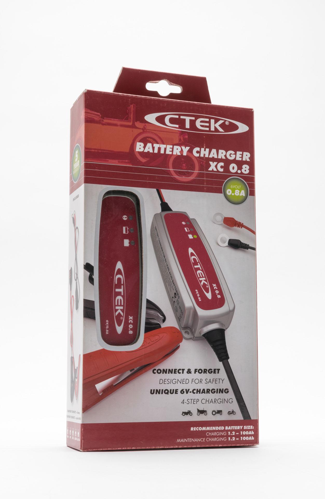 Автомобильное зарядное устройство CTEK XС 0.8