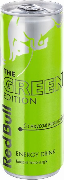 Энергетический напиток Red Bull Edition Green, 250 мл цена и фото
