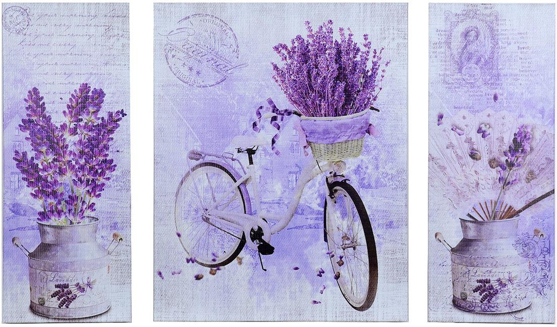 Картина Лаванда. Трихтин, модульная, 4018607, 80 х 50 картина бордовые тюльпаны трихтин модульная 2943431 125 х 73 см