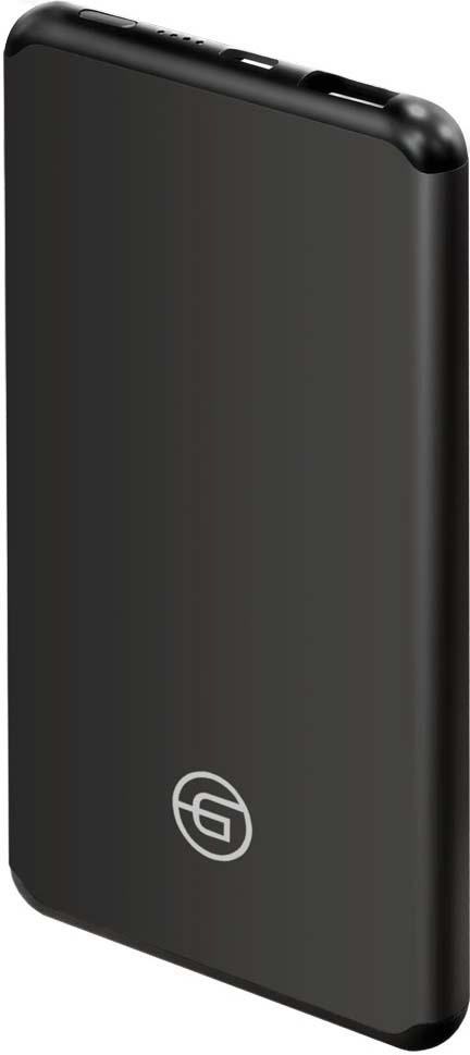 Фото - Внешний аккумулятор Ginzzu GB-3905B 5400 мАч, черный аккумулятор