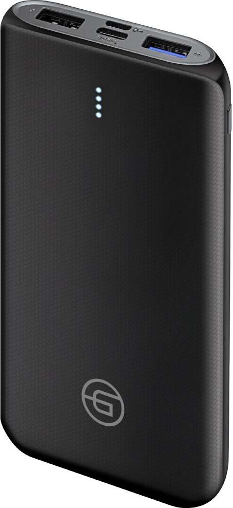 цена на Внешний аккумулятор Ginzzu GB-3914B с Type-C 10 000мАч, черный