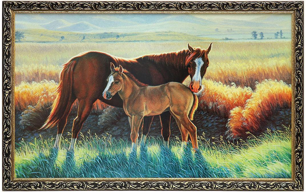Рассказывание по картинке лошадь с жеребенком в старшей группе