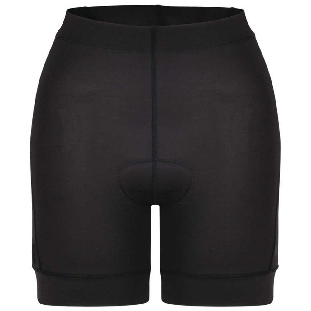 Велошорты женские Dare 2b Habit Short, цвет: черный. DWJ432-800. Размер 8 (40)