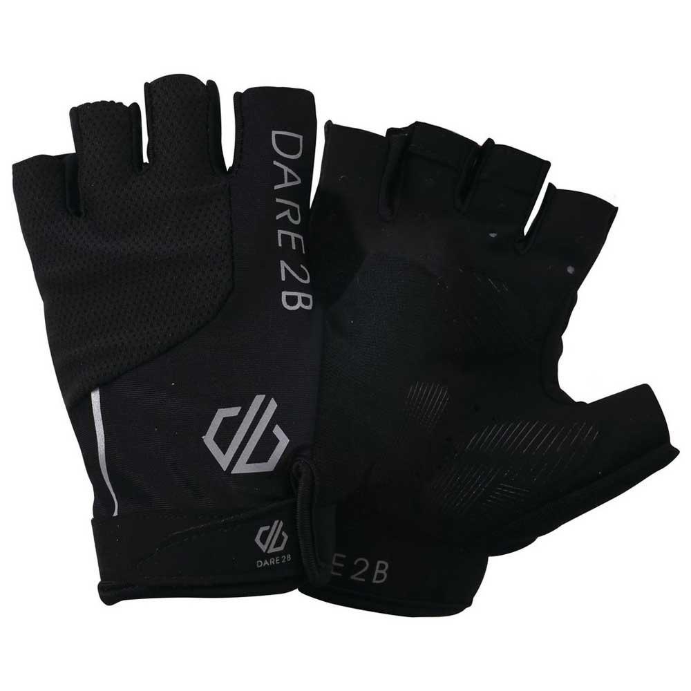 Велоперчатки мужские Dare 2b Mens Forcible Mtt, черный, размер L (10)