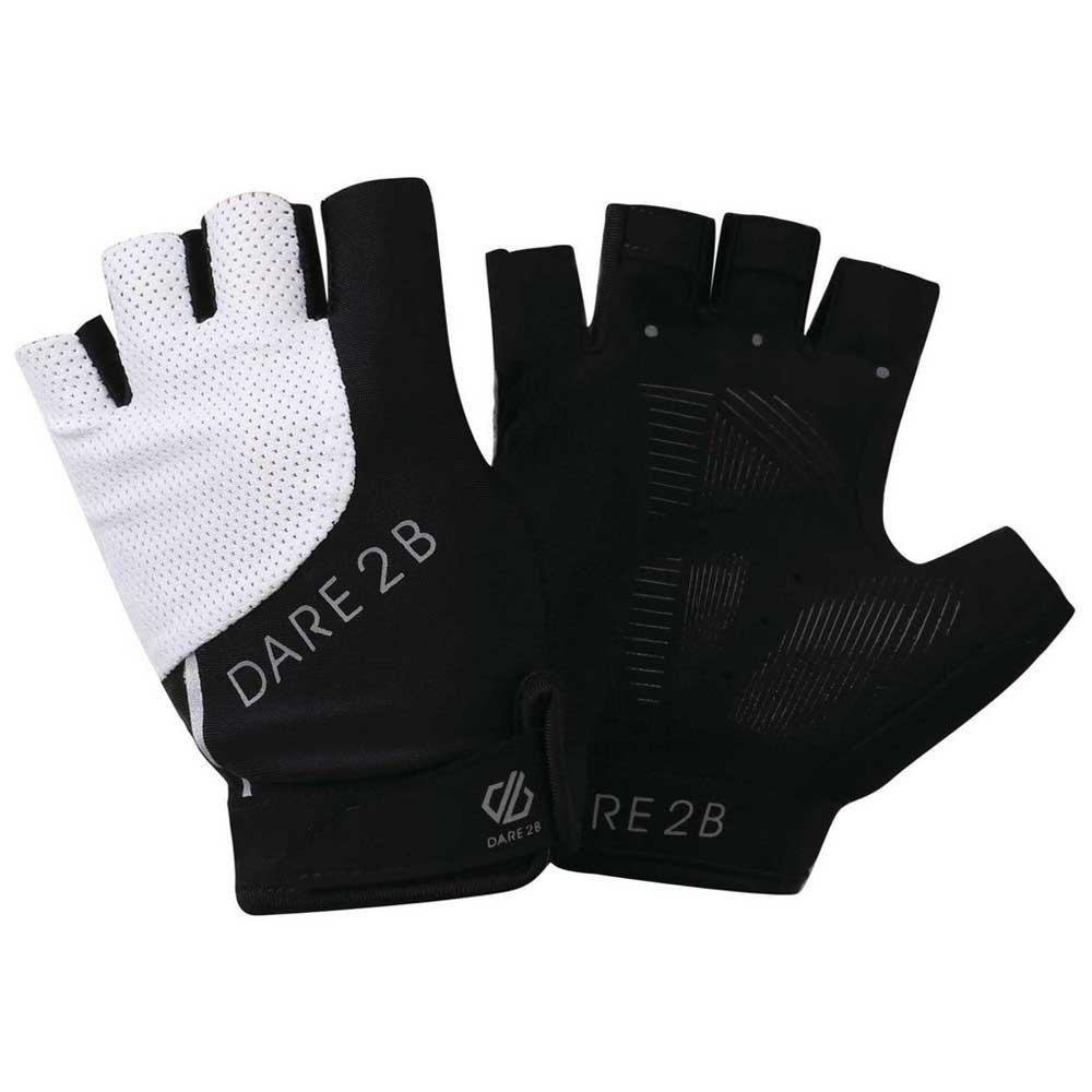 Велоперчатки женские Dare 2b Wmn Forcible Mitt, черный, размер XS (7)