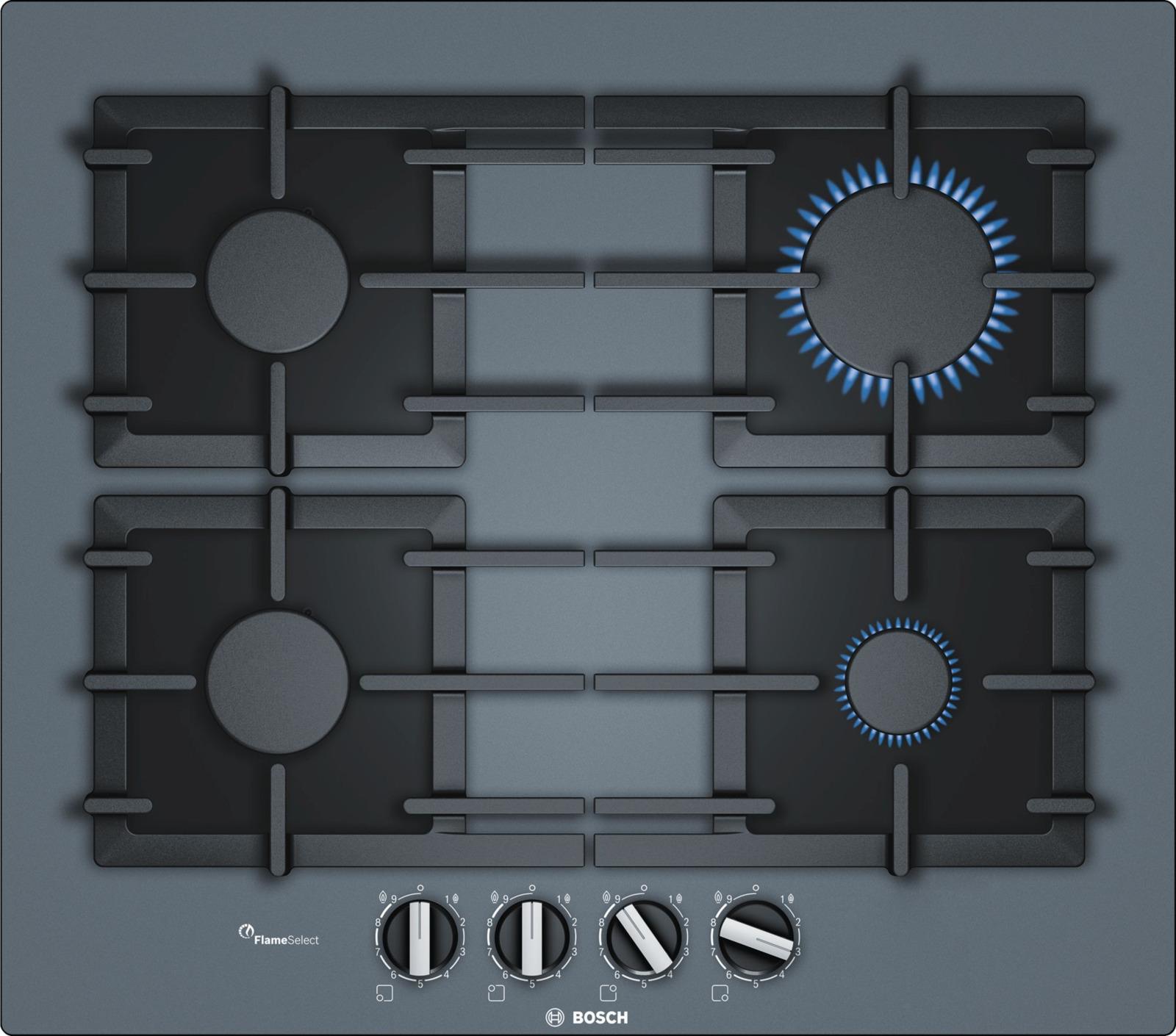 Варочная панель Bosch PPP6A9B90R, темно-серый