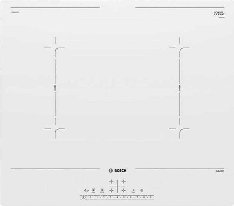 Варочная панель Bosch PVQ612FC5E, белый Bosch