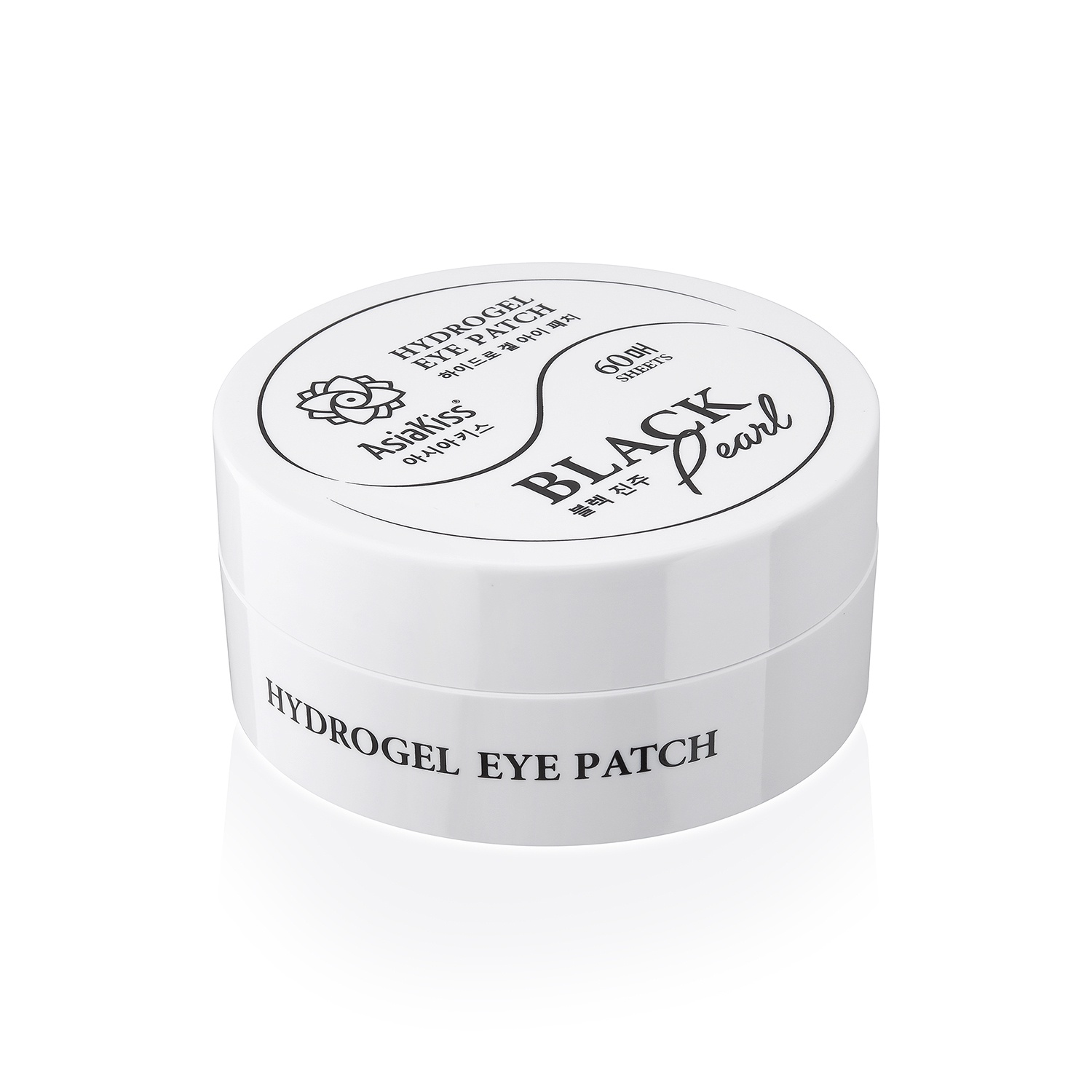 Патчи АsiaKiss Hydrogel eye patch Black Pearl, 60 шт