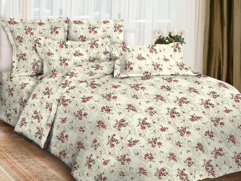 Комплект постельного белья ИМАТЕКС 9767-сем-70х70, кремовый, розовый donson 70х70 см delicate