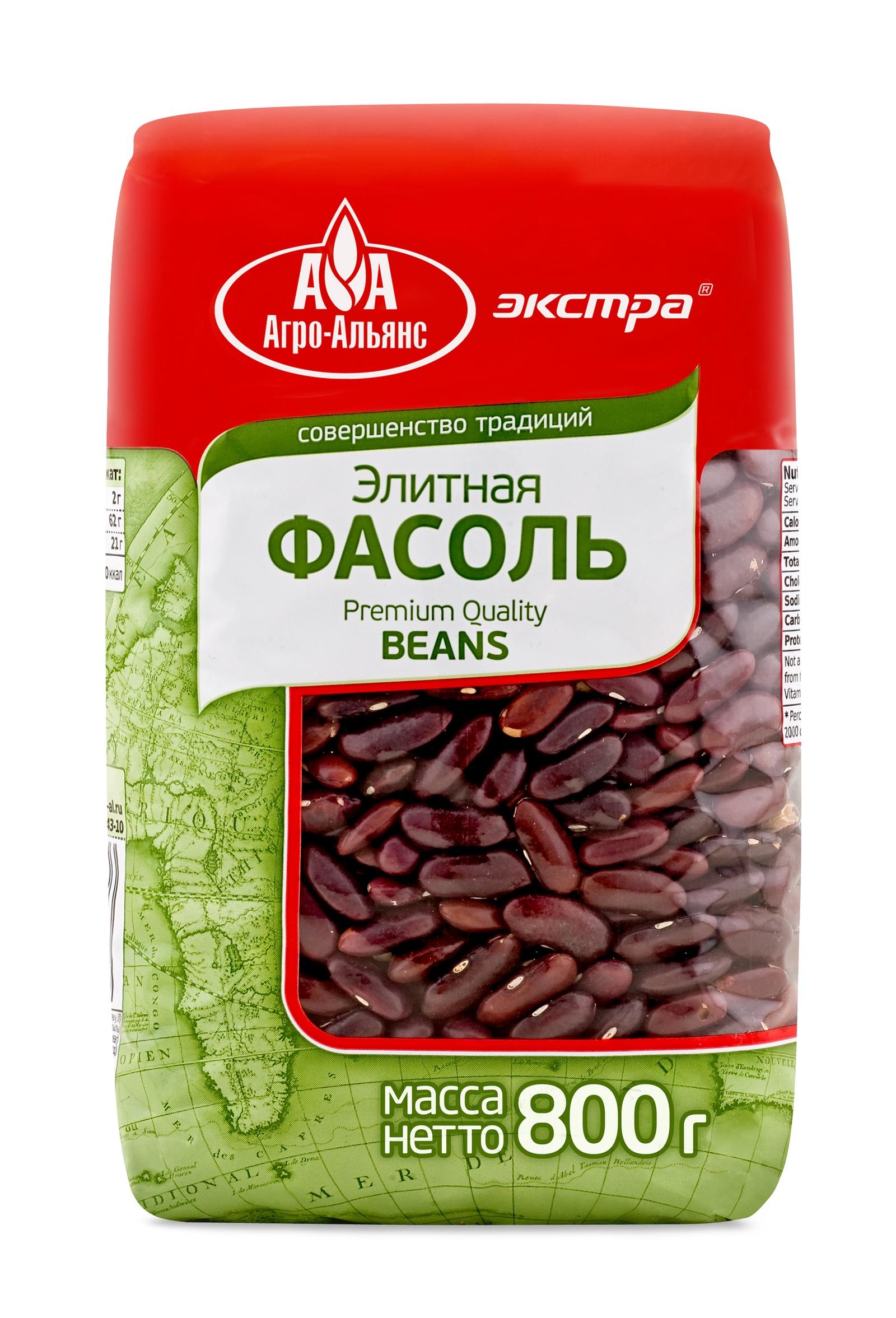 Фасоль сушеная Агро-Альянс ОФ000024179, 800 Агро-Альянс