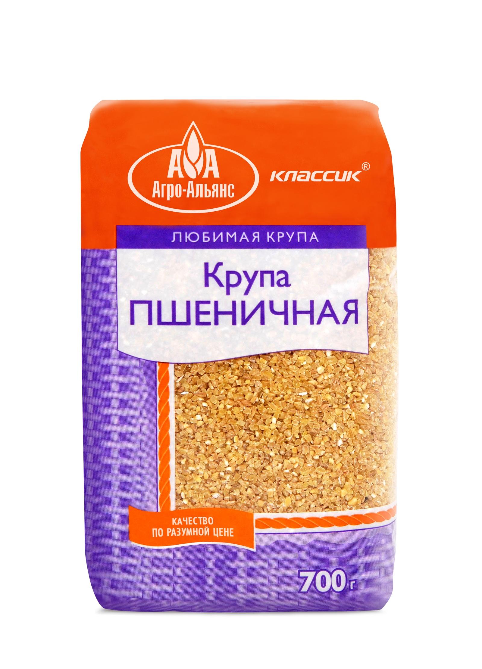 Пшеничная крупа Агро-Альянс 00000000376, 700 Агро-Альянс