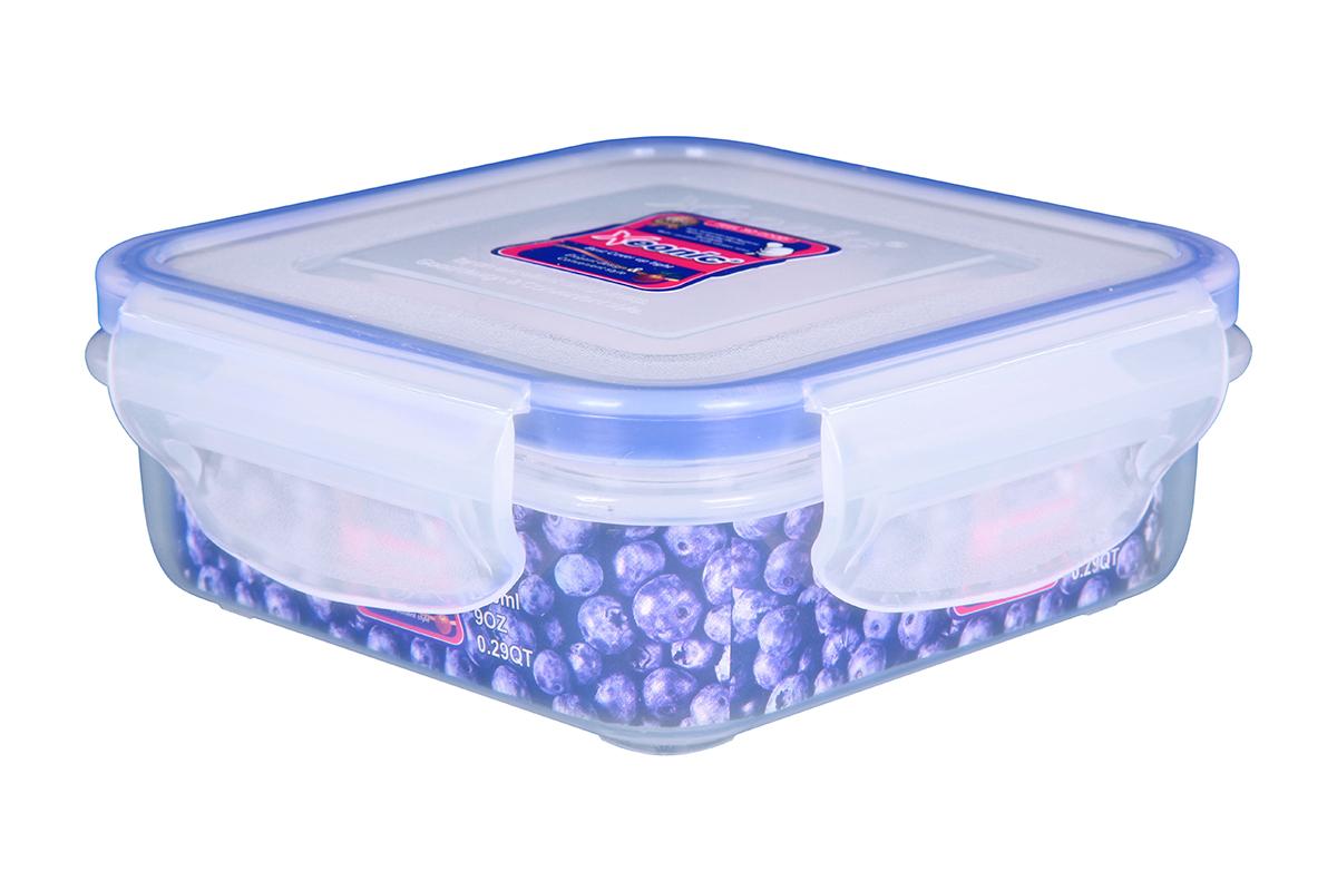 Контейнер пищевой Xeonic 810038, Силикон, Полипропилен available from 10 11 container food rectangular xeonic 530 ml xeonic 810029