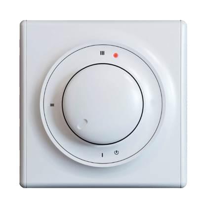 Регулятор теплого пола One Key Electro Терморегулятор ОКЕ-10 белый в комплекте регулятор теплого пола terneo терморегулятор pro