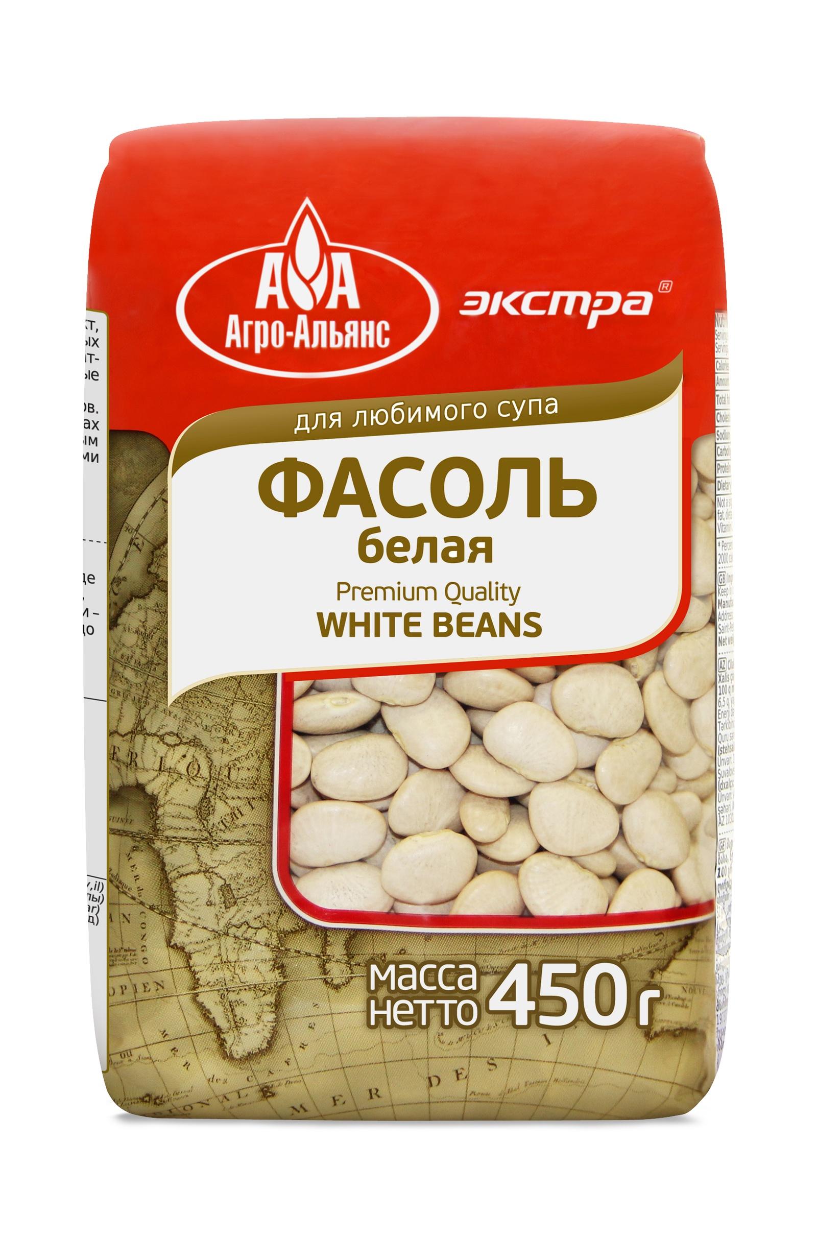 Фасоль сушеная Агро-Альянс ОФ000022164, 450 Агро-Альянс