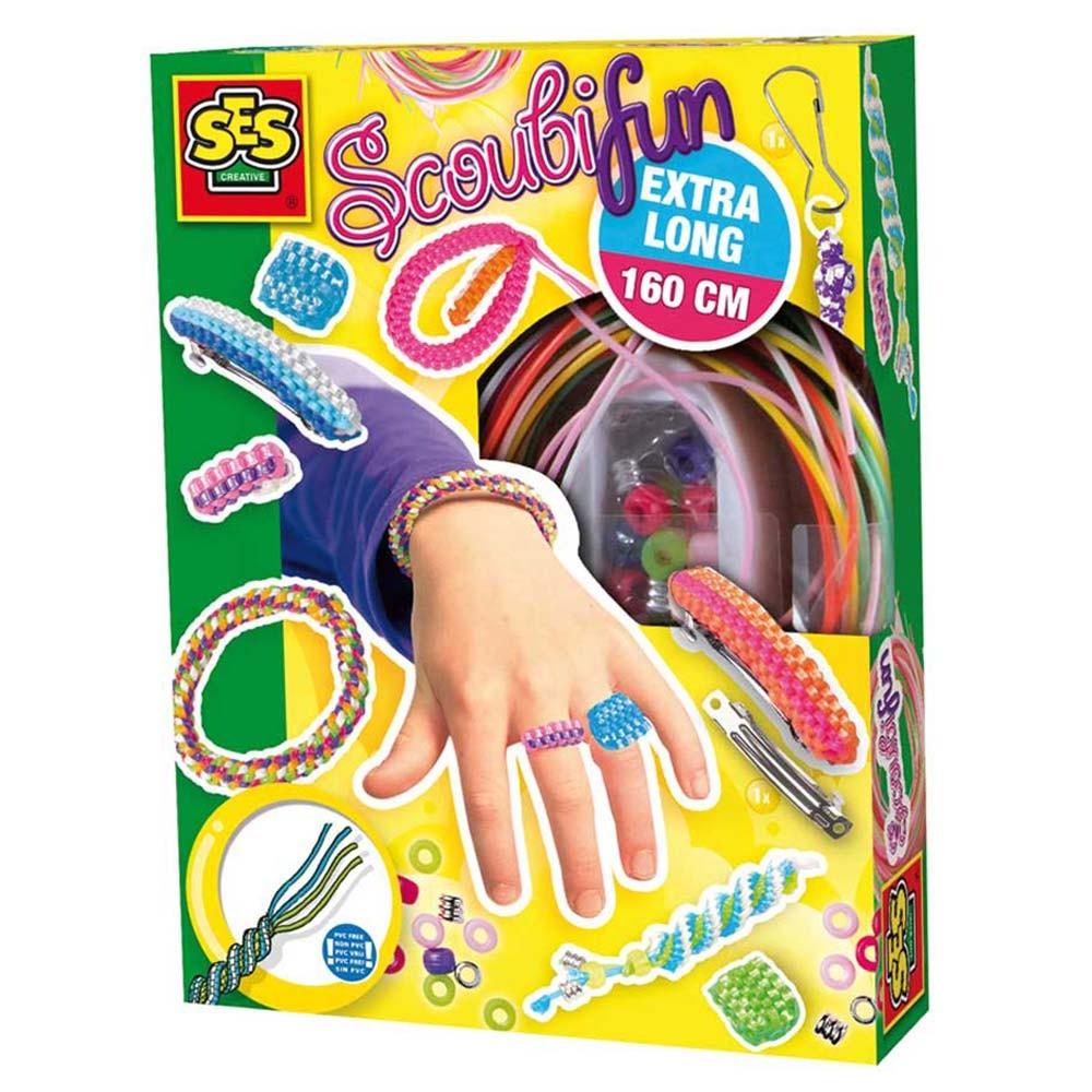 Развивающая игрушка SES creative Набор для плетения 00847 набор для плетения белоснежка радужные бусинки