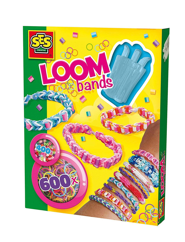 Развивающая игрушка SES creative Набор резиночек для плетения браслетов пастельных цветов 14111 белоснежка резиночки для плетения цвет светло зеленый 1000 шт
