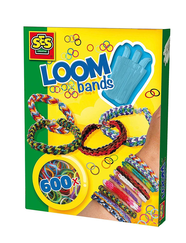 Развивающая игрушка SES creative Набор резиночек для плетения браслетов ярких цветов 14112 набор резиночек для плетения 1 toy winx т58322