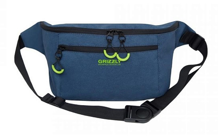 Велосумка на пояс Grizzly MM-906-2-2, синий
