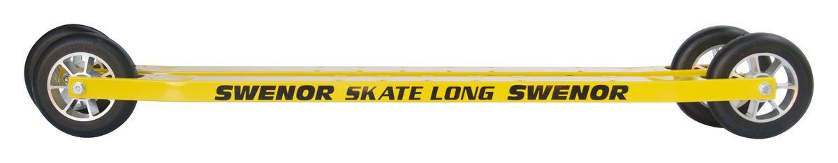 Лыжероллеры Swenor Skate Long 3, с удлиненной платформой, для конькового хода, 065-000-3-LB Swenor