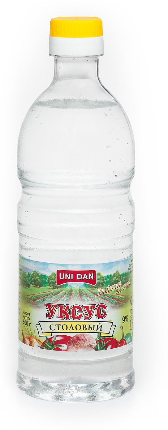 UniDan Уксус столовый 9%, 500 г