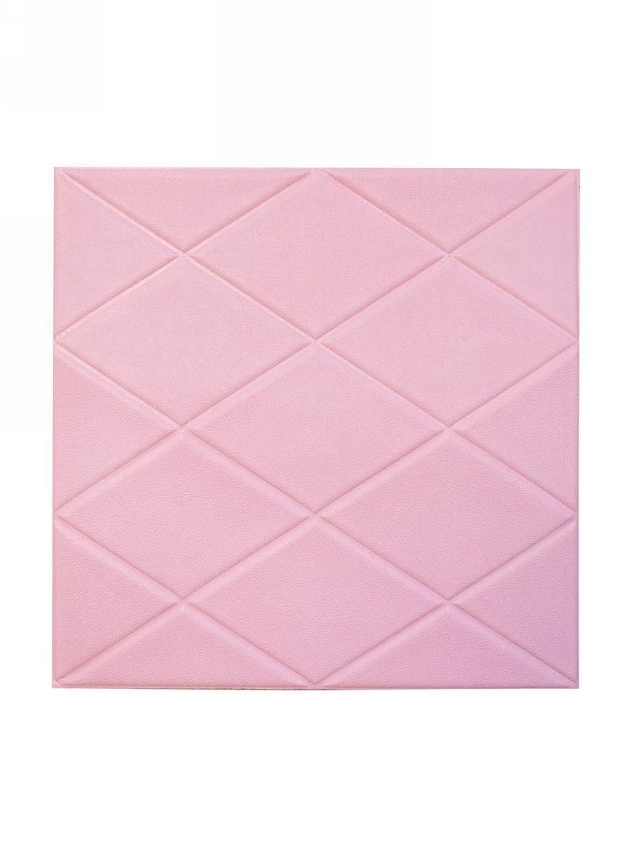 ОбоиQT0005-11QT0005-11Самоклеющиеся 3д панели для стен (ромб) в детской, офисе, гостиной, спальне и т.д. Изготовлены из высокоэластичного полиэтиленового поролона + POE пленка. Толщина 8 мм, 70*70см. Украсят любое помещение, влагоустойчивые, легко моющиеся. Идеально подходят для детских комнат, мягкая поверхность защитит от ударов, моющаяся поверхность защитит от скопления бактерий, пыли и грязи. Легкие в использовании, самоклеющиеся. Могут быть использован на таких поверхностях как: крашеные стены, облицовочная керамическая плитка, дерево, металл, стекло и т.д. Продукт имеет все сертификаты соответствия. Безопасен для человека и окр. среды.