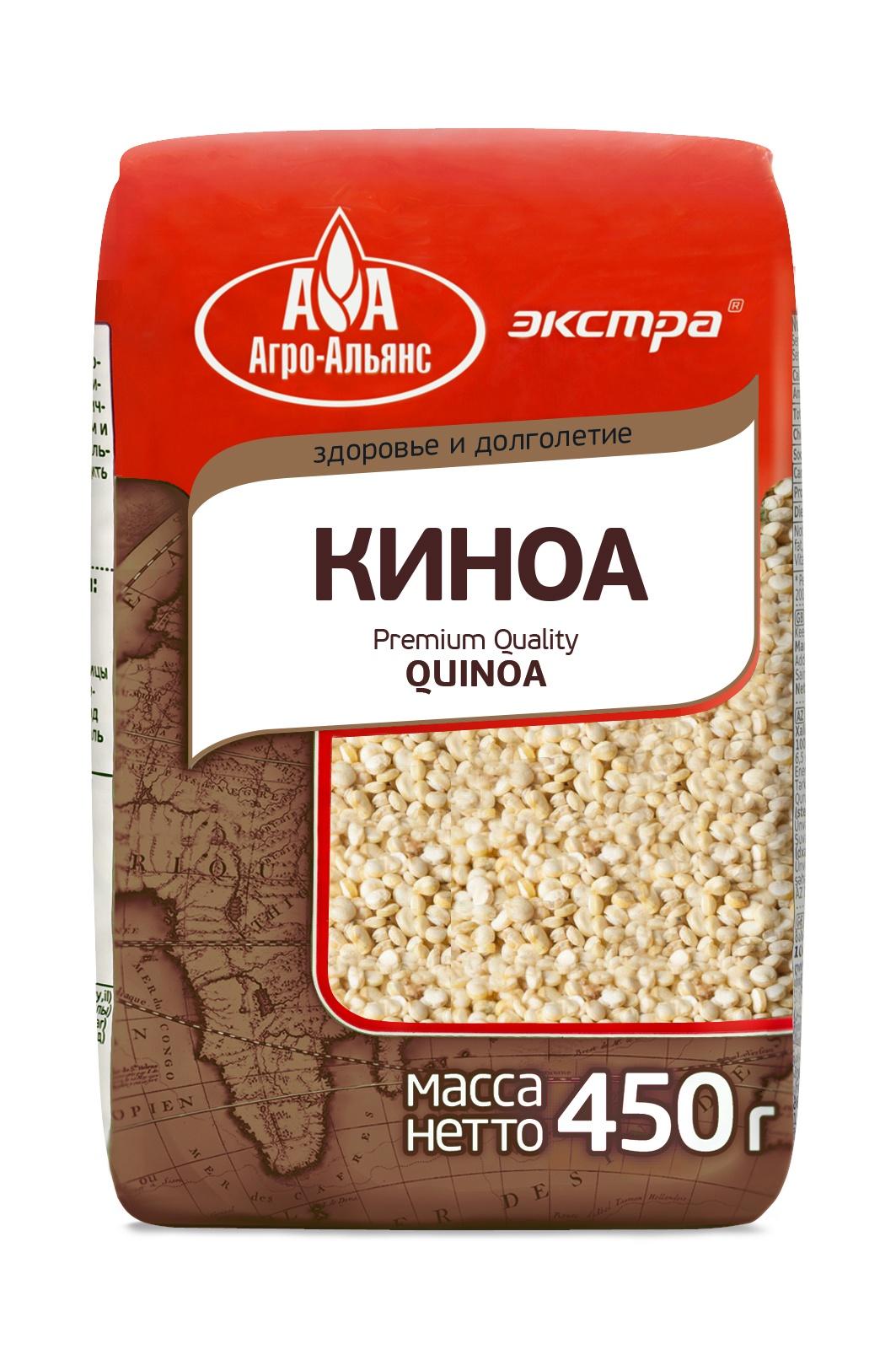 Киноа Агро-Альянс Экстра, 450 г