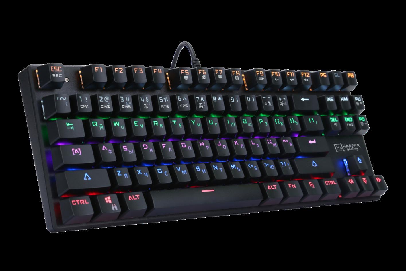 Игровая клавиатура Harper GKB-P100, черный