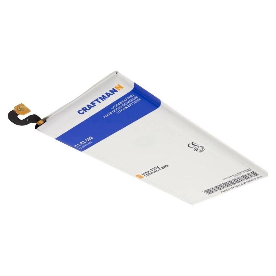Аккумулятор для телефона Craftmann EB-BG920ABE для Samsung Galaxy S6 SM-G920F, SM-G920FD аккумулятор для телефона craftmann eb bg920abe для samsung galaxy s6 sm g920f sm g920fd