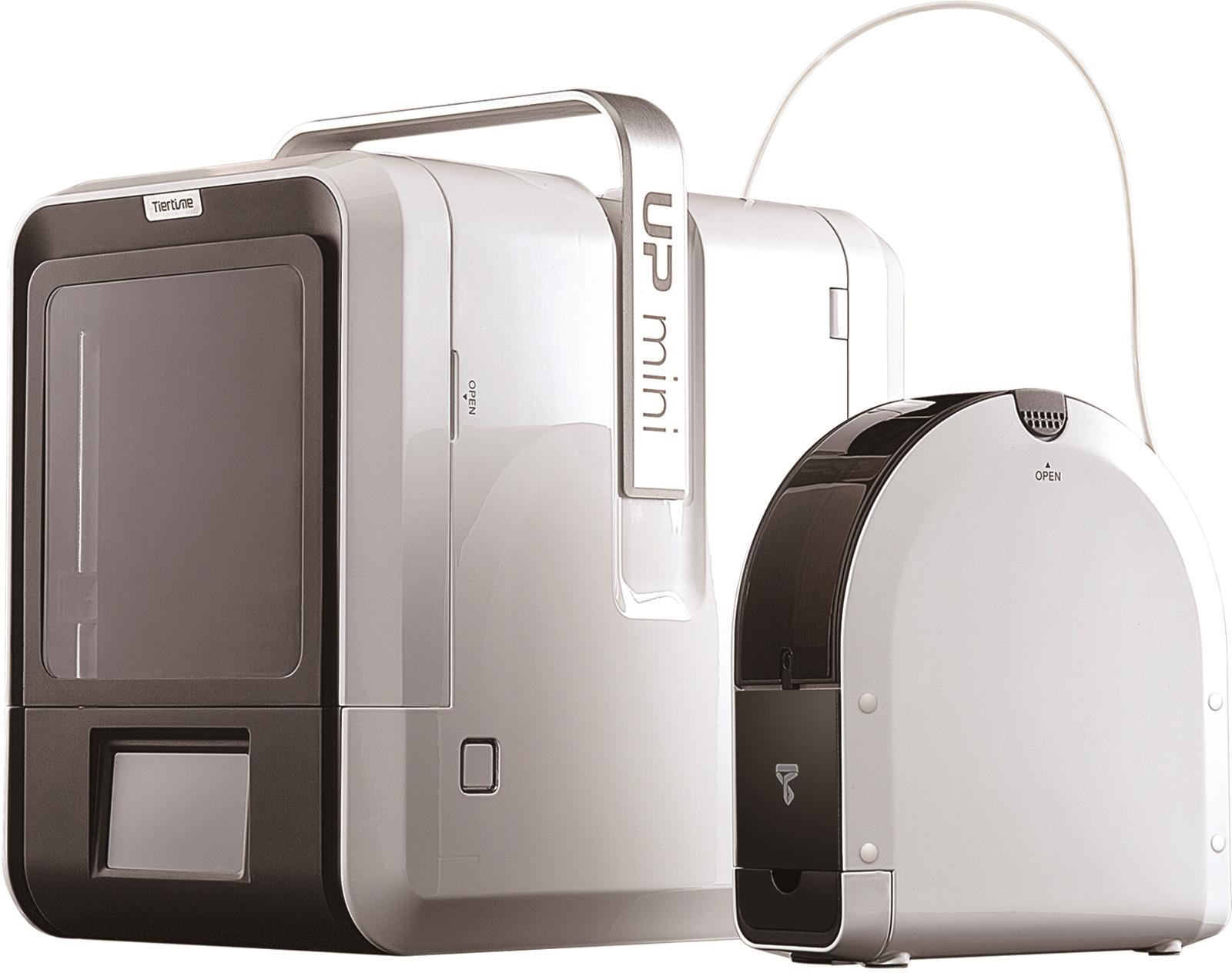 3D принтер TierTime UP Mini 2 ES, белый, черный