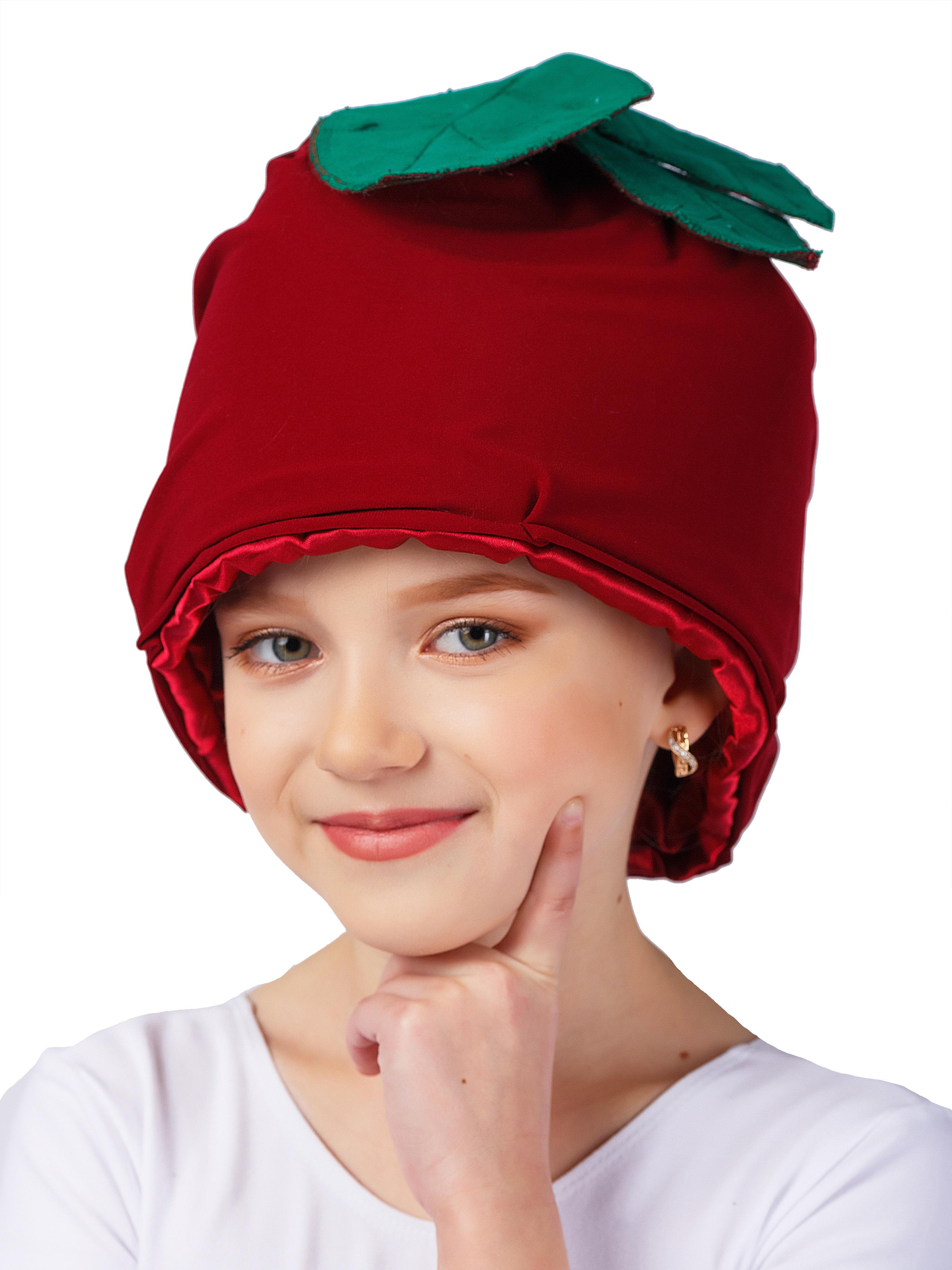 Шляпа карнавальная Gala-Вальс Шапка Свекла, бордовый карнавальная шляпа sima land снежинка анимированная 333854