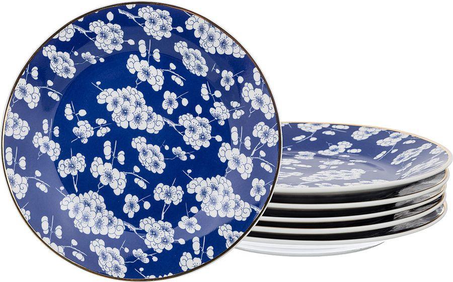Набор столовой посуды Lefard, 86-2232, синий, 6 предметов