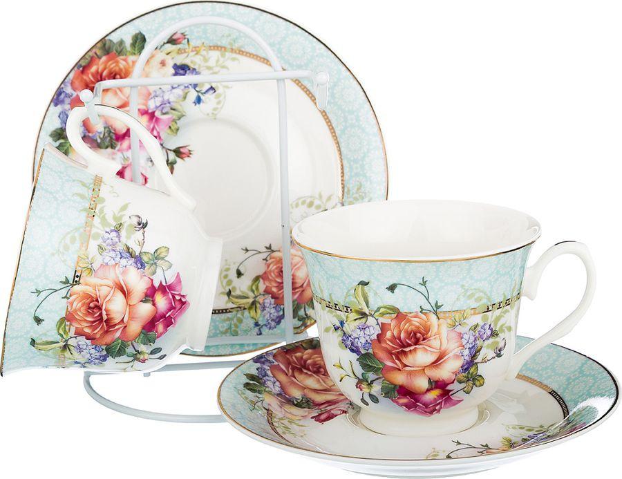 Набор чайный Lefard, 165-466, мультиколор, 220 мл, 4 предмета набор чайный на 2 персоны c622as622a l6 yg01 2 розовый 4 предмета