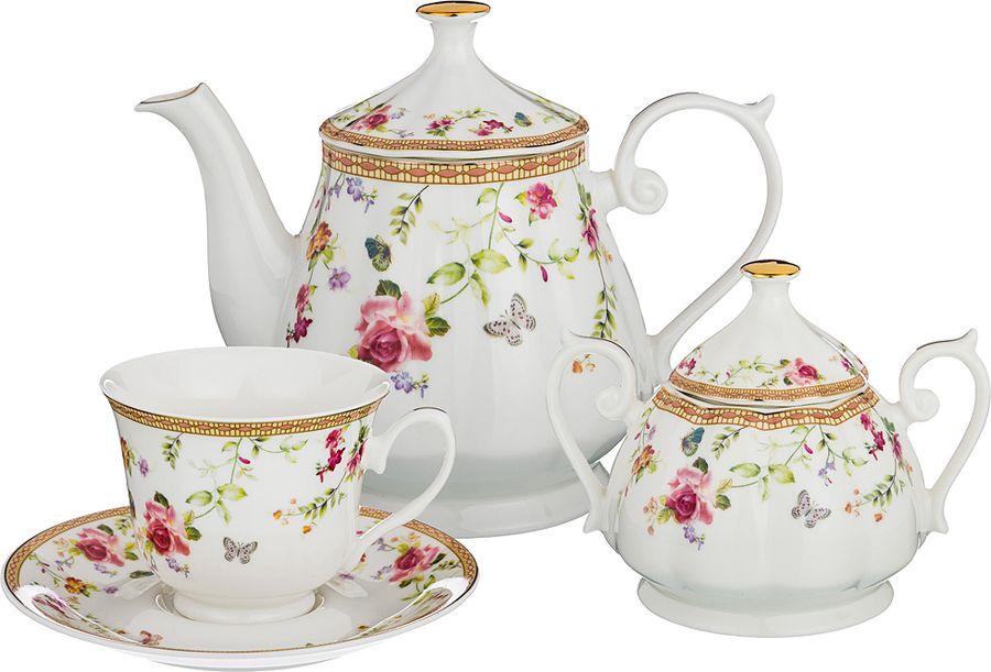Набор чайный Lefard, 165-482, мультиколор, 14 предметов цена