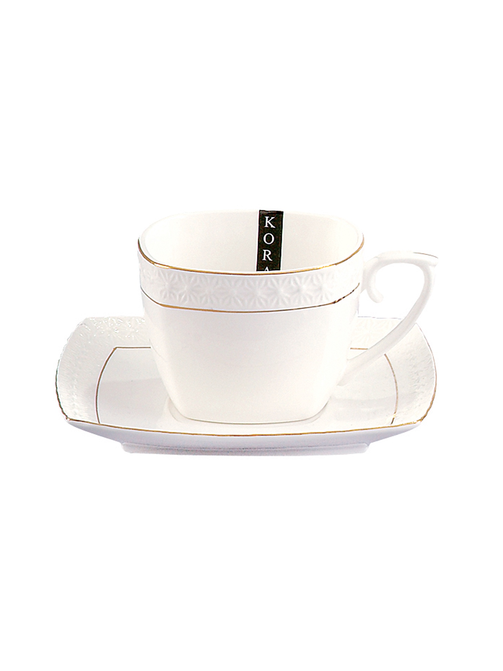 Чайная пара Коралл 749200, Керамика чайная пара 240 мл 6 шт sykora