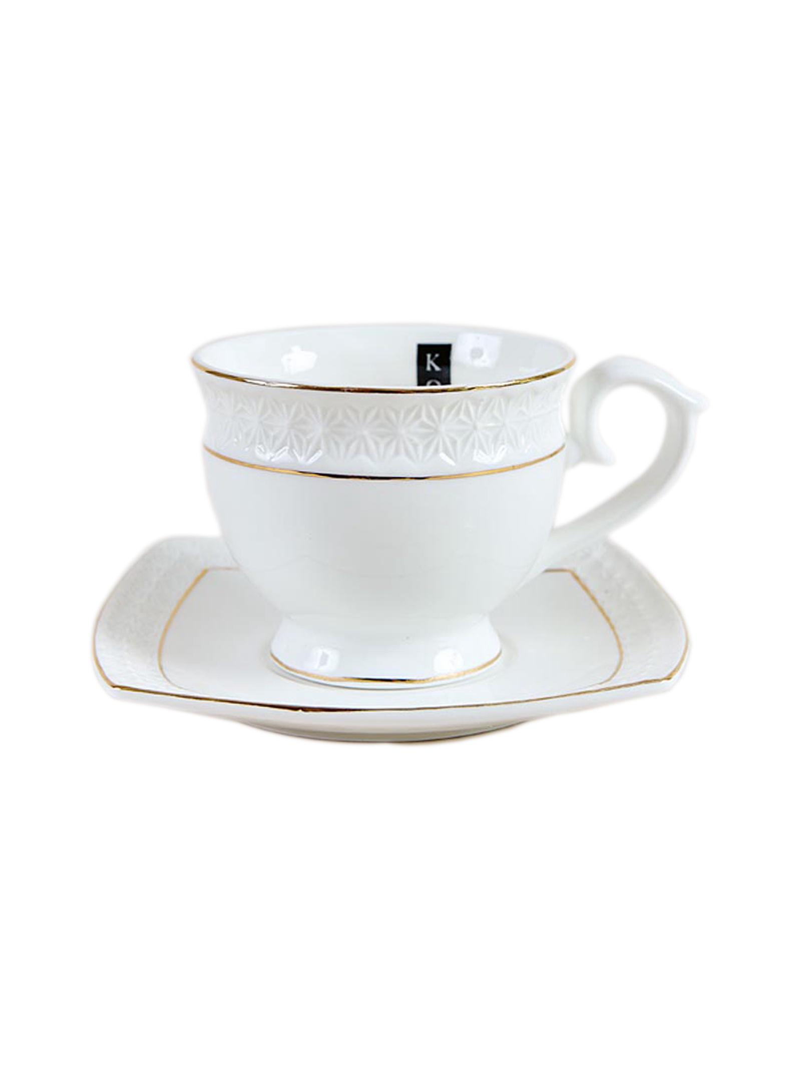 Чайная пара Коралл 749310, Керамика