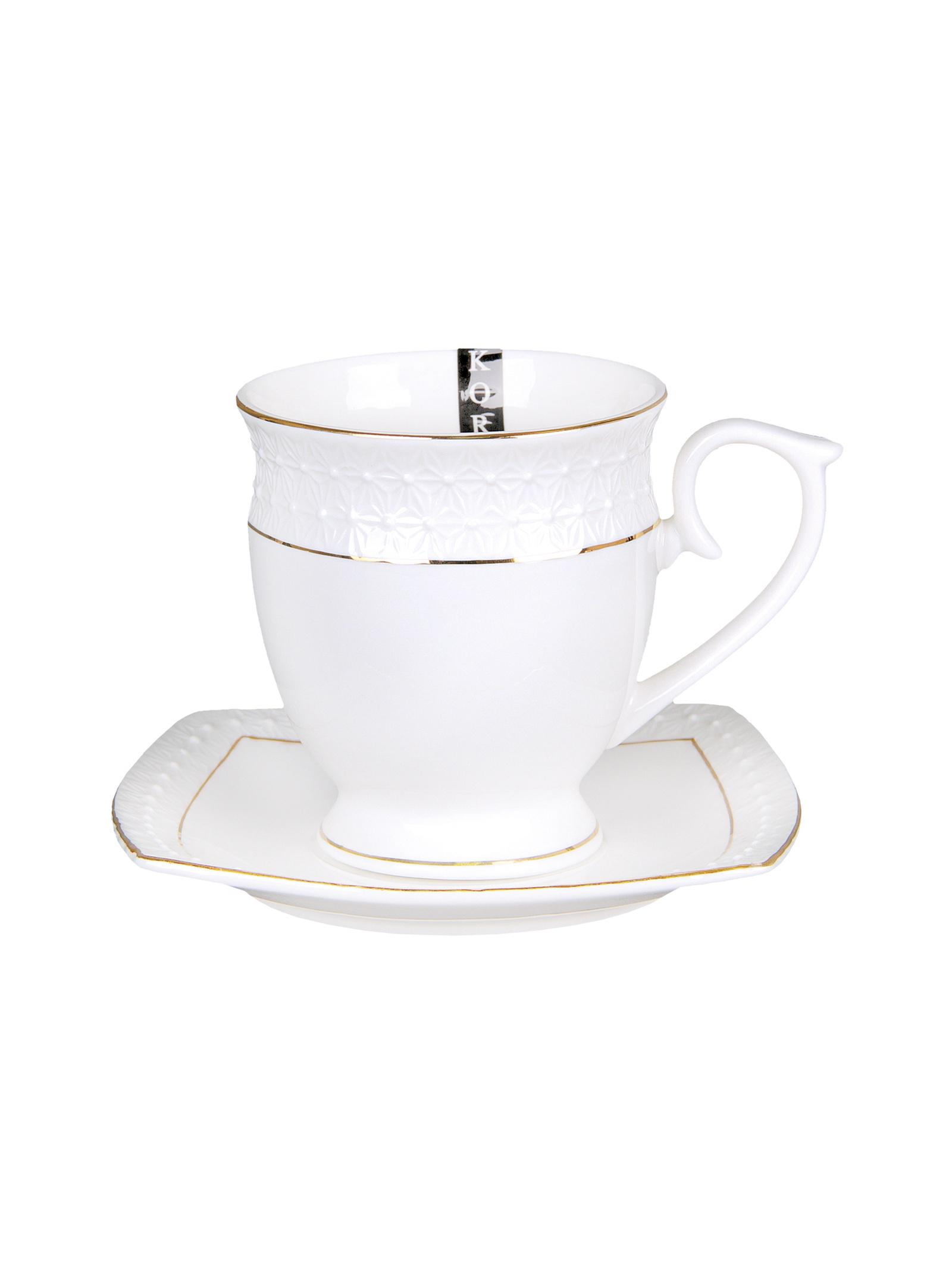 Чайная пара Коралл 749318, Керамика