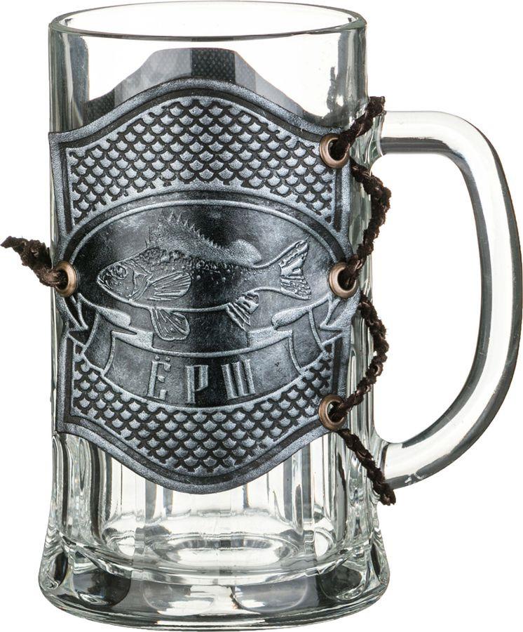 Кружка пивная Agness Ерш, 352-221, коричневый, 600 мл все цены