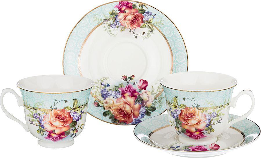 Набор чайный Lefard, 165-464, мультиколор, 220 мл, 4 предмета набор чайный на 2 персоны c622as622a l6 yg01 2 розовый 4 предмета