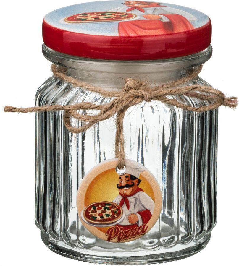 Банка для сыпучих продуктов Lefard Повар, 157-152, мультиколор, 300 мл банка для сыпучих продуктов сладости 850 мл