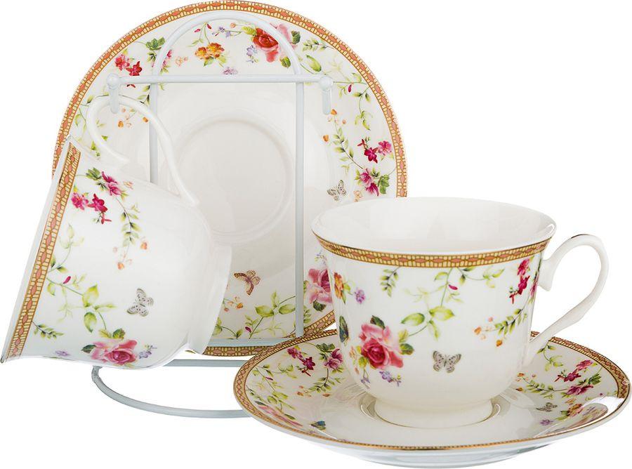 Набор чайный Lefard, 165-476, мультиколор, 220 мл, 4 предмета набор чайный на 2 персоны c622as622a l6 yg01 2 розовый 4 предмета