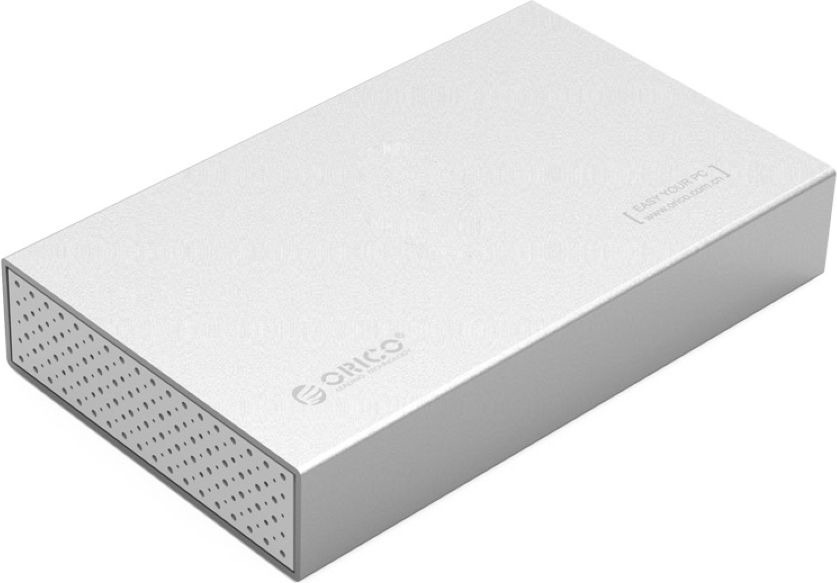Контейнер для HDD Orico, 3518S3, серый шо ли тай seatay hds6280 b сплава высокоскоростной usb3 0 hdd корпус поддерживает 3 5 дюймовый sata жесткий диск серийный черный
