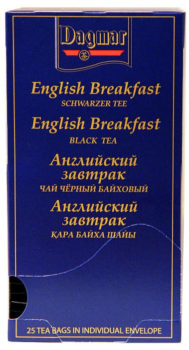 Чай в пакетиках Dagmar 34170096 чай eilles английский завтрак био черный 20 пакетиков пирамидок
