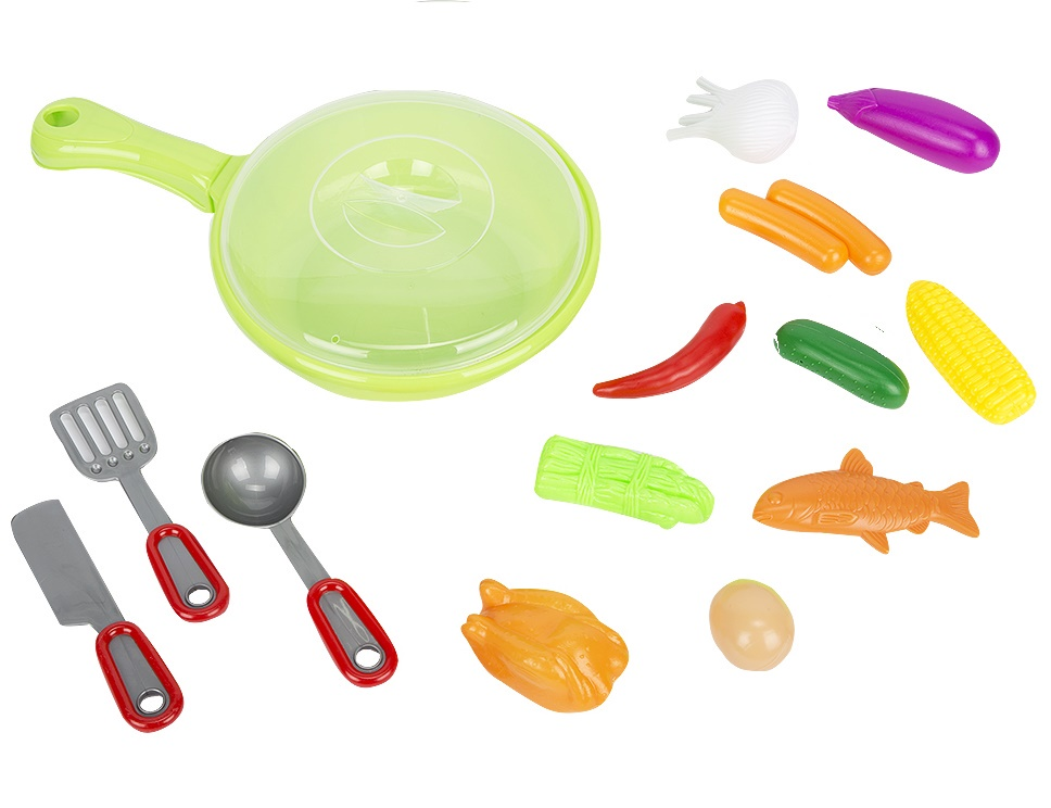 Игровой набор Посуда с продуктами NF591-27 игровой набор play smart кухонные принадлежности и муляжи веселый поваренок р41347