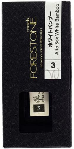 """Аксессуар для духовых Forestone FWSA0304627161066032Трость для саксофона-альт White Bamboo с легким откликом из композитного материала с содержанием карбона и бамбуковой целлюлозы. Сила средне-сильная, 3 (MH) Трости White Bamboo имеют малое сопротивление и живой отклик для свободного звука. Подходят для всех стилей Шлифованный верхний слой во французском стиле Трости Forestone изготавливаются из смеси полипропилена, карбона и бамбуковой целлюлозной фибры (более 50%) способом инжекционного литья в Японии Совершенно сбалансированные, долговечные трости со стабильным тембром Трости White Bamboo имеют иную, чем у других тростей Forestone, градуировку силы. Новая градуировка точно соответствует Rico и близко к Vandoren, и сильнее старой градуировки на единицу. Таблица новой градуировки на закладке """"Информация"""" Сила средне-сильная, 3 (MH)"""