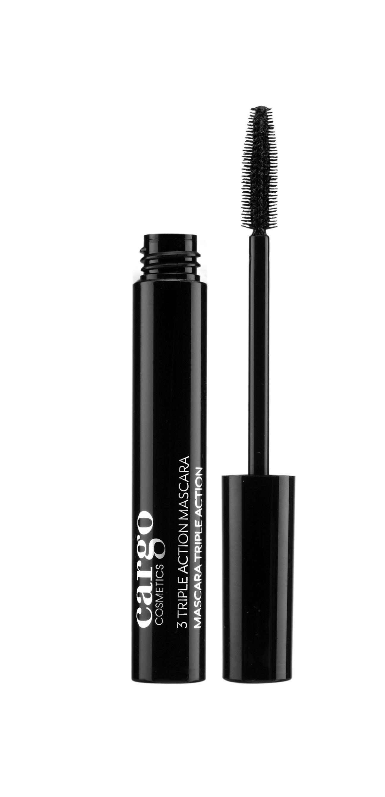 Тушь для ресниц CARGO Cosmetics Triple Action Mascara оттенок Black