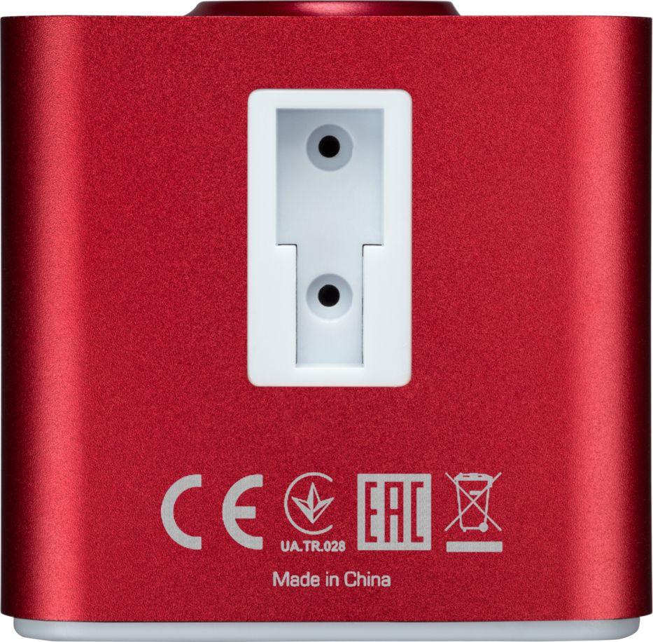 Видеорегистратор Prestigio RoadRunner Cube, белый, красный Prestigio