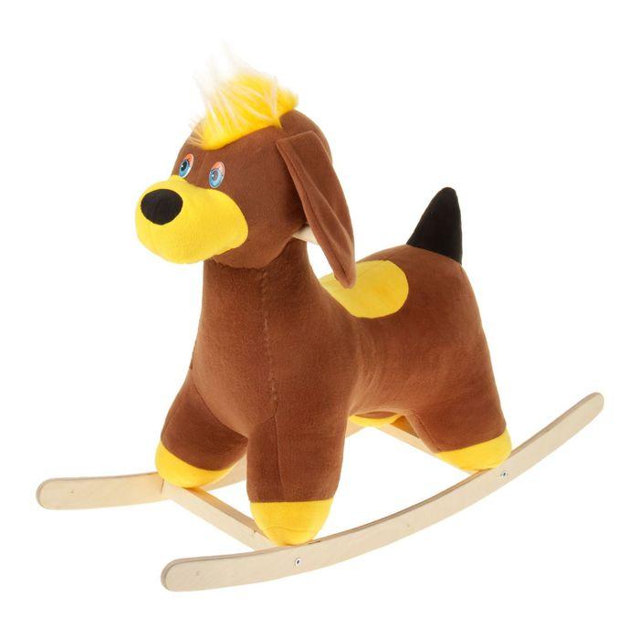 Каталка Аймид 002 Собачка  Тузик (Мини) коричневый тузик дождевик холодный английский кокер мальчик